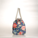 Bolsas florais retros do saco de ombro do estilo europeu impermeável do PVC (99210)