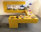 Roter MDF Kitchen Cabinet für Wooden Furniture (angepasst)