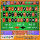 Máquina de la ruleta de la ranura con la tarjeta estable del juego