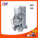 Machine électrique de traitement au four de matériel d'hôtel de matériel de cuisine de machine de nourriture de matériel de restauration de BBQ de matériel de boulangerie de la CE du mélangeur de nourriture 60L (B60)