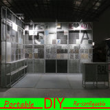 Cabine en aluminium portative personnalisée d'exposition de salon de tissu de tension