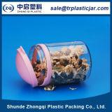 Tarro plástico del alimento del animal doméstico de la categoría alimenticia