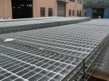 Press Lock Steel Grating pour Platform Stair Walkway Mesh Grill