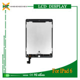 Peças de reparação do Tablet PC para iPad Air 2 Ecrã LCD e digitalizador Touch Screen para iPad 6