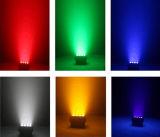 Farben-Wäsche im Freien LED NENNWERT Licht 6in1 des Gebäude-24X15W