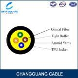 Cable móvil consolidado hilado Gjpfju de Aramid con una chaqueta de Pur