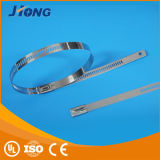 Tipo cinta plástica da escada da tecnologia nova do aço inoxidável