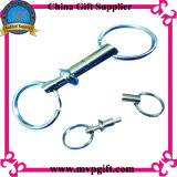 Metal Key Chain com Spring Plug