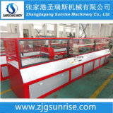 Linha de produção plástica do painel de parede do perfil do PVC