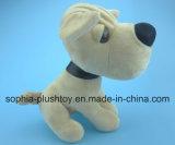 Zachte de speelgoed-Rimpel van de Hond van de Pluche Hond