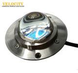 luzes subaquáticas Recessed da associação dos TERMAS do diodo emissor de luz do aço inoxidável IP68 RGB da ESPIGA 24V