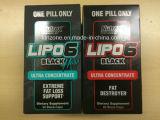 De OEM/Nutrex de investigación de los laboratorios de Lipo 6 del negro energía negra de los deportes de la cápsula del concentrado 60 ultra