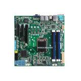 Xeon-E3 V3 Haswell refrescam o cartão-matriz 12 SATA do server do processador central NVR da série