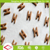 Papel antiadherente tratado silicón de la hornada de la prueba de petróleo