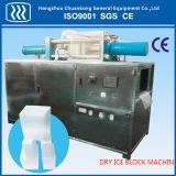 Granulador do gelo seco da indústria que faz a máquina