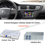 Navigation Android Interface Box para Peugeot, Ds, Citroen Upgrade Touch Android System, Internet, Games, Googl Map