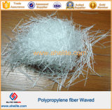 Пластмасса развевала волокно PP для конструкции