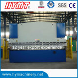 Wc67y-200X4000 Hydraulic Druckereibremse u. hydraulische faltende Maschine