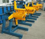 3 Tonnen manuelles Uncoiler für Metallstahlbaby-Ring