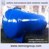 ターンキーはSulforic酸圧力タンク容器容器V-04を写し出す