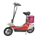 Eスクーターを折って、押しなさいLEDのヘッドライト(MES-350-1)が付いているスクーターを
