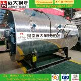chaudière à vapeur à gaz normale de tube d'incendie 2ton/H horizontal