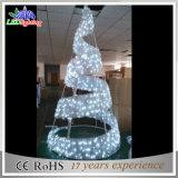 Het openlucht LEIDENE van de Decoratie van de Vakantie van het Park Licht van de Kerstboom