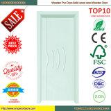 Moderne Haus-Sicherheits-Holz-Tür