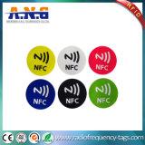 Tag RFID sans contact d'à haute fréquence 13.56MHz pour le téléphone mobile