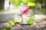 2015 de Gebemerkte Kaars van de Verjaardag van de Soja in Glas met Deksel