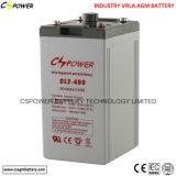 Батарея AGM цикла изготовления 2V1200ah глубокая с 3 летами гарантированности