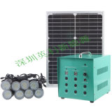 Новая модель 30W 40W Portable Solar Power Kit с 8PCS СИД Light