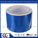 Bande d'avertissement d'évidence de sûreté r3fléchissante bleue matérielle de PVC (C3500-OXB)