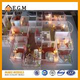 Изготовление модели блока/модели квартиры/весь вид знаков