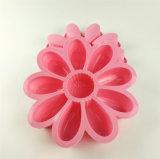 Moulage de gâteau de Shope de lotus de silicones
