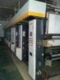 Verwendete 7 Bewegungscomputer-Steuerzylindertiefdruck-Drucken-Maschine für Plastikfilm