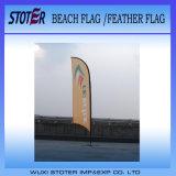 Знамя пляжа вогнутой формы