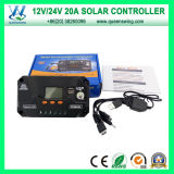 12/24V Home Solar System 20A Solar Charge Controller (QWP-VS2024U)
