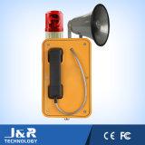 Передача широкого пространства, промышленный непредвиденный телефон, телефон громкоговорителя напольный