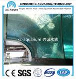 Tanque de peixes acrílico desobstruído do aquário do preço submarino do projeto do mundo