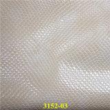 靴および袋のためのヘビの穀物PUの総合的な革