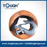 Bunte 11mmx30m100% Uhwmpe endlose Seil-Handkurbel mit Zubehör