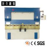 Dobladora hidráulica WC67Y/K-63T/2500 del CNC del CE