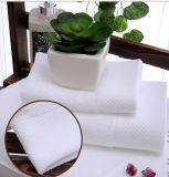 Хлопка высокого качества полотенце 100% стороны установленное для ванной комнаты гостиницы