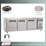 Refrigerador da bancada de Refigerator do Worktable do aço inoxidável do congelador do Worktable da cozinha
