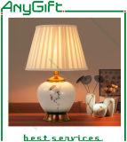ホーム装飾的な020のための新しい中国様式の陶磁器の電気スタンド/卓上スタンド