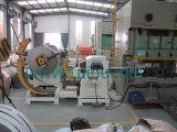 Alimentador automático de la hoja de la bobina con la enderezadora en sistemas de tramitación de la bobina