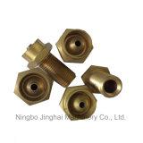 Encaixes do cobre da elevada precisão do CNC para o equipamento do gás