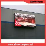 Im Freien farbenreicher Mietbildschirm LED-P8 für Stadium