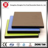 Tarjeta incombustible de la tarjeta del laminado de la alta presión de los paneles de pared de HPL HPL